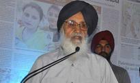 Sacrilege handiwork of forces bent to disturb peace: Parkash Singh Badal