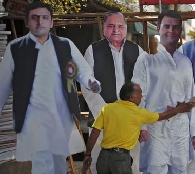 Congress 'candidate' files nomination from seat given to SP