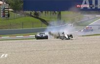 No penalties for 'racing incident'