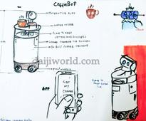 Mangaluru: SJEC alumnus John Rodrigues featured in New York Times for CoffeeBot invention