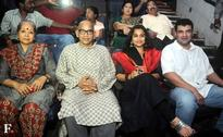 Vidya Balan, Siddharth Roy Kapur watch 'Kabali' in a single screen theatre in Mumbai