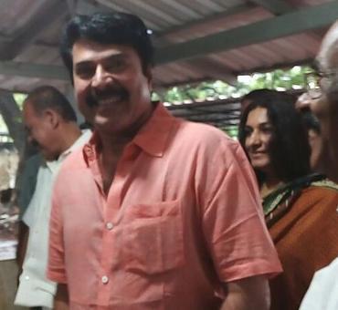 Mammootty leads the star brigade in Kerala polls