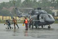 Navy continues rescue operations in cyclone-hit areas