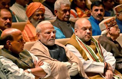 Shah slams 'undemocratic' politics of Rahul Gandhi