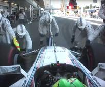 Williams Martini Racing set F1 pit stop record