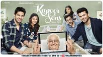 New poster of Kapoor & Sons launched