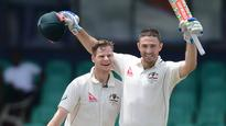 Smith and Marsh tonnes lift Aussies from mire
