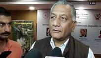 If Jadhav was a spy why would he have a valid Indian passport, asks VK Singh