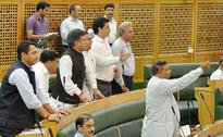BJP, National Conference Members Clash In Jammu And Kashmir Assembly