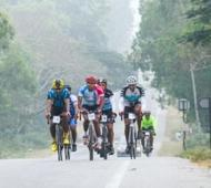Indian Terrain Tour of Nilgiris checks in at Madikeri, Coorg on day 2 Riders cover 125 kms to reach Madikeri from Mysore Flag off for Sultan Bhathery on 18th morning