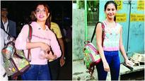 Jacqueline Fernandez and Amyra Dastur spotted with similar Gucci bags