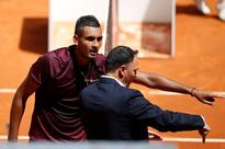 Maturing Kyrgios knocks Wawrinka out of Madrid Open