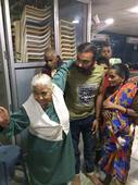 Leggie Mishra celebrates birthday with Alzheimer's patients