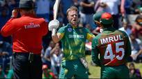 South Africa v/s Bangladesh, 2nd ODI: AB de Villiers slams 176 as Proteas amass 353/6