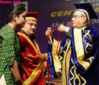 President of India attends the centenary celebrations and convocation of Lady Hardinge Medical college