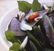 Ill Drink to That: Mussels with Lemongrass, Chile and Holy Basil