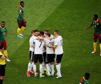 Confederations Cup: Germany, Chile reach semis