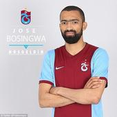 Former Chelsea full-back Jose Bosingwa rejoins Turkish side Trabzonspor