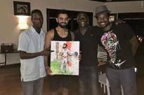 After Sir Viv's praise, son Mali gifts Virat Kohli a painted portent