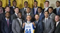President Barack Obama delivers zingers with Warriors at White House (videos)
