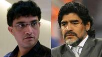 Exhibition football match featuring Diego Maradona and Sourav Ganguly postponed yet again