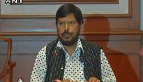 CPI to Ramdas Athawale:Tell PM Modi to act