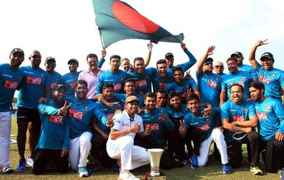 Proud moment for Bangladesh: Historic 1st win in 100th Test