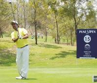 Pune Open: Shamim sizzles to snatch round three lead