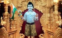 Gujarat temple dresses Lord Swaminarayan in RSS uniform