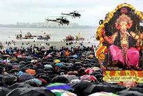 Mumbai bids adieu to 24,768 Ganesh idols