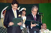 Murad Ali Shah takes oath as Chief Minister Sindh