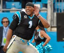 Cam Newton Will Not Stop Smiling