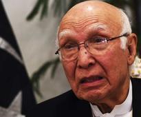 Modi misleading Brics, says Sartaj Aziz