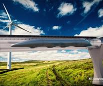 The Digital Train, as imagined by Hyperloop and Deutsche Bahn