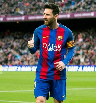 Another record for Messi as Barcelona sink Bilbao