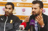 QSL: Umm Salal keen to upset Al Rayyan Umm Salals coach Ulent Bugen (right) speaking on the eve of the Qatar...