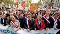 France: Far-left leaders go on streetwide protest in Paris over Emmanuel Macron's labour reforms