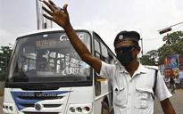 Caught on camera: Traffic cop punches, kicks man in Kolkata