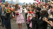 Royal couple William, Kate draw crowds during Vancouver visit