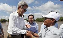 John Kerry returns to site where he killed ma...