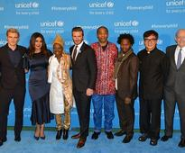 Stars Attend UNICEF's 70th Anniversary Event
