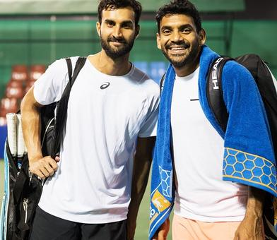 Tata Open: Defending champs Bopanna, Jeevan ousted; Yuki-Sharan in semis