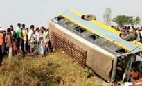 Kendrapara  : 2 Killed & 20 Injured in Bus Accident