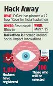 Code for India: EdCast plans a hackathon at Rashtrapati Bhavan