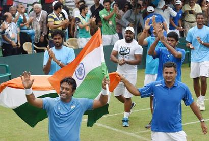 Davis Cup: Paes, Bopanna seal play-off place with easy win over Korea