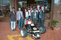 Team Lakshya Racing from GIT participated in SUPRA SAEINDIA