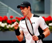 Andy Murray into last eight of Madrid Open after straight sets win over Gilles Simon