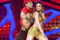Shefali Zariwala, Parag Tyagi sweat it out