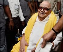 No adequate facilities for Karunanidhi to attend Assembly: DMK