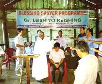 Nambashi Horton village showers Blessing for intending candidate